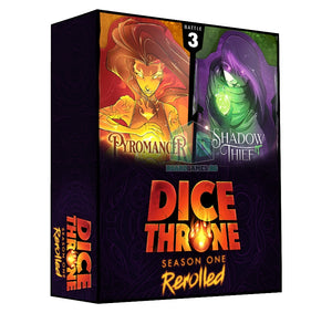 Dice Throne: Season 1 Rerolled - Box #3: Pyromancer vs. Shadow Thief