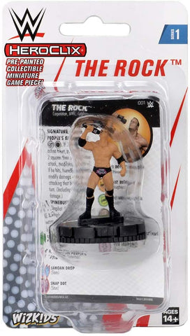 WWE HeroClix - The Rock