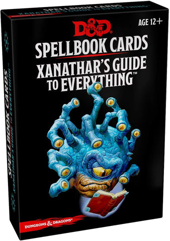 Xanathar's Guide Spellbook Cards