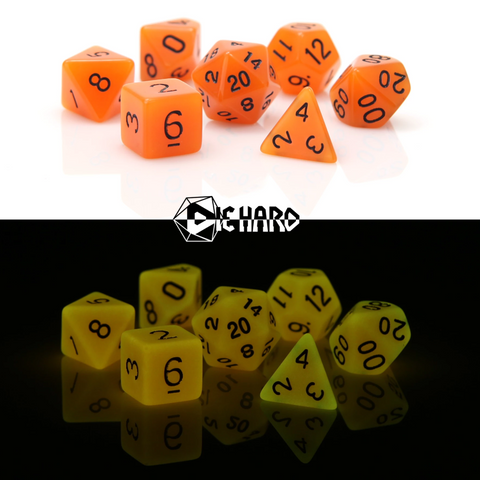 RPG Set: Glow-in-the-Dark - Orange