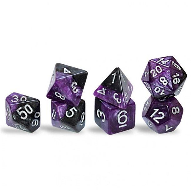 Halfsies Dice: Poly - Panther (7)