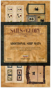 Sails of Glory - Additional Ship Mats