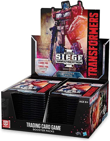 Transformers: TCG - War for Cybertron: Siege - Booster Display (30)