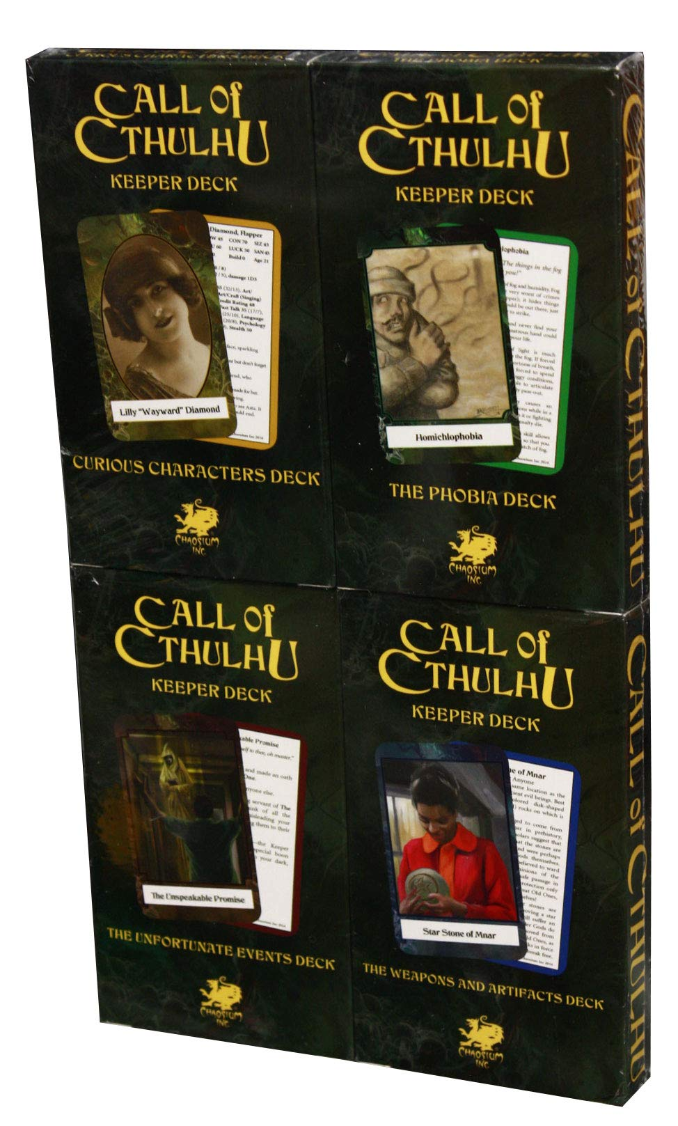 Call of Cthulhu - Keepers Decks (4)