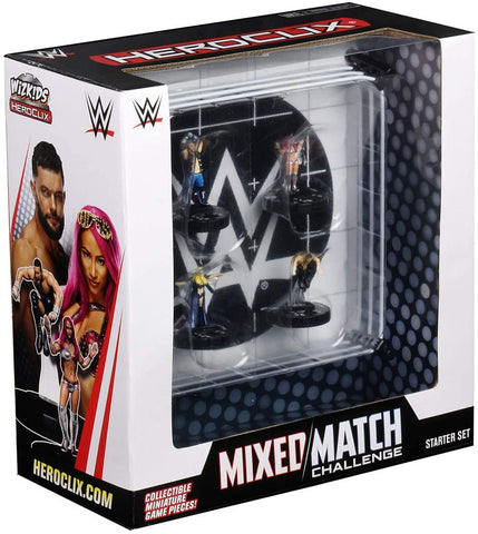 WWE HeroClix - Mixed Match Challenge WWE Ring 2-Player Starter Set