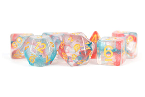 Unicorn: 16mm Resin Poly Dice Set - Astral Swell (7)