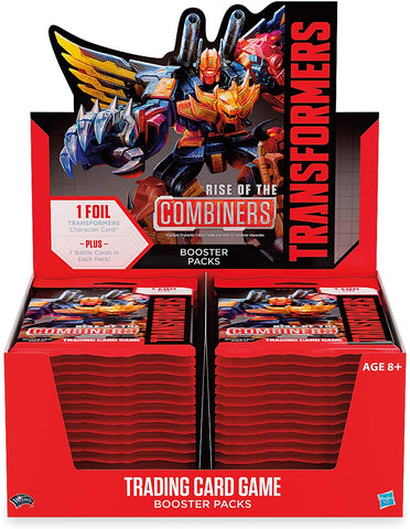 Transformers: TCG - Rise of the Combiners - Booster Display (30)