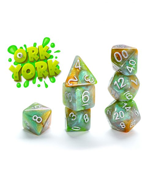 Aether Dice: Poly - Ork York (7)