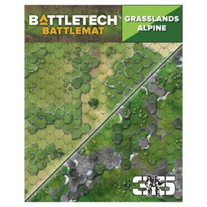 BattleTech - Battle Mat: Grasslands Alpine