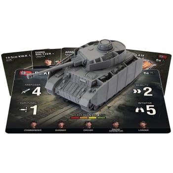 World of Tanks: Miniatures Game - German Panzer IV H