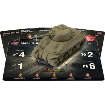 World of Tanks: Miniatures Game - American M4A1 75mm Sherman
