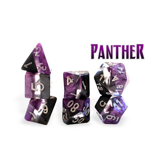 Supernova Dice: Poly - Panther (7)
