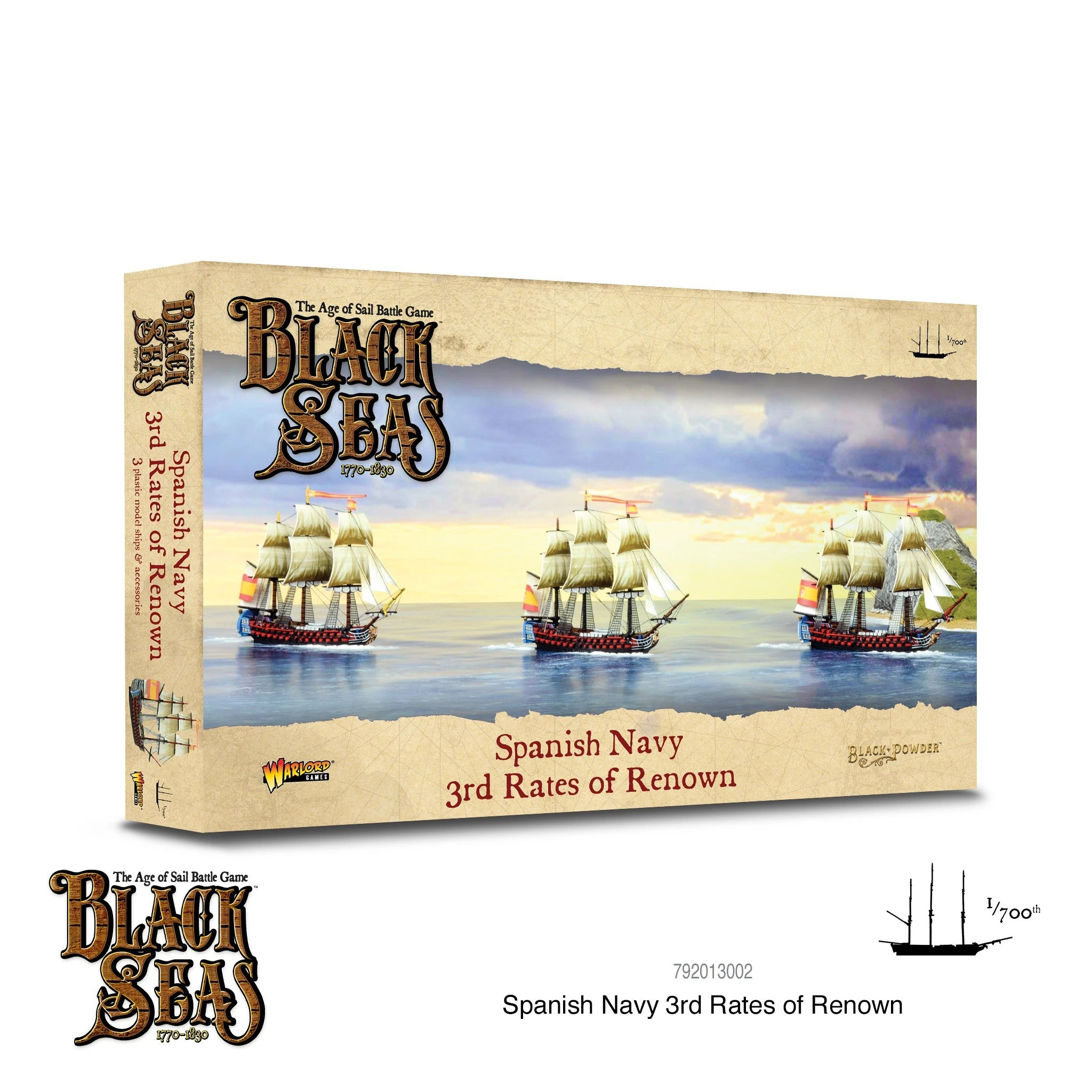 Black Seas - Spanish Navy 3rd Rates of Renown