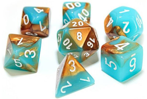 Gemini: Poly - Luminary Copper/Turquoise/White (7)