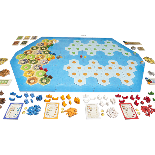 Catan - Explorers & Pirates 5-6 Player