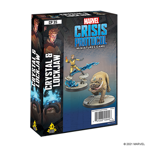Marvel: Crisis Protocol - Crystal & Lockjaw