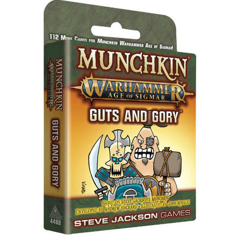 Munchkin: Warhammer Age of Sigmar - Guts and Gory