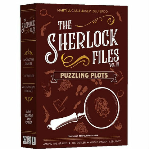 Sherlock Files - Volume III: Puzzling Plots