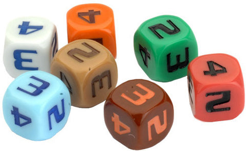 Star Trek: Ascendancy - Space Lane Dice
