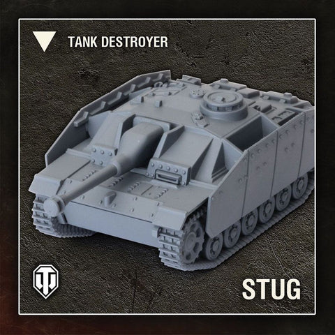 World of Tanks: Miniatures Game - German StuG III G
