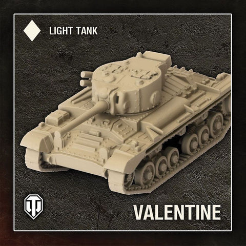 World of Tanks: Miniatures Game - British Valentine