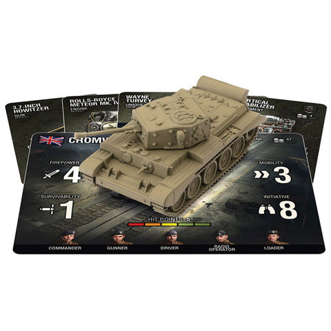 World of Tanks: Miniatures Game - British Cromwell