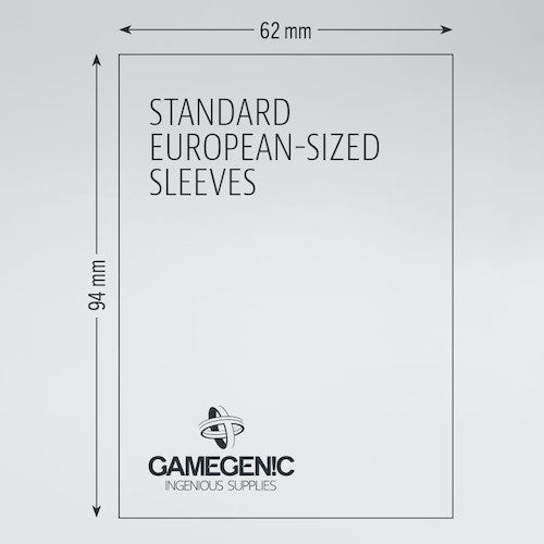 MATTE Sleeves - Standard European