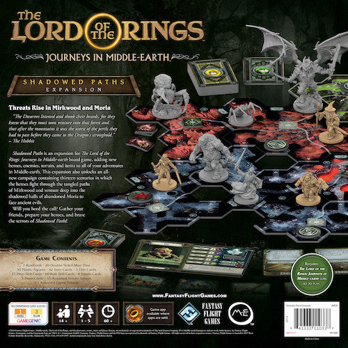 Lord of the Rings: Journeys In Middle-Earth - Shadowed Paths