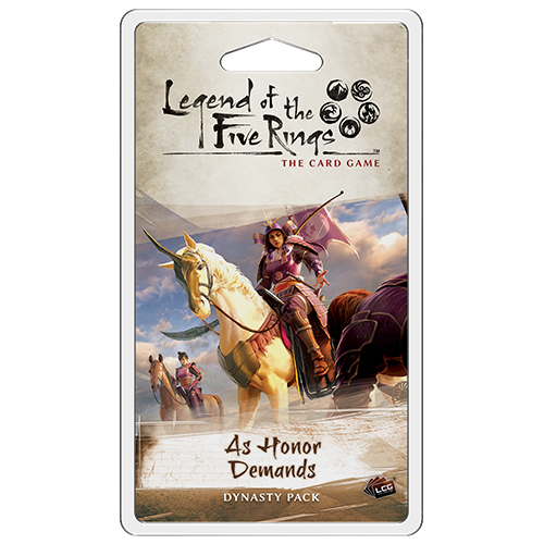 Legend of the Five Rings: LCG - As Honor Demands