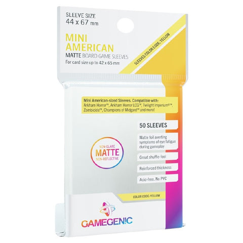 MATTE Sleeves - Mini American