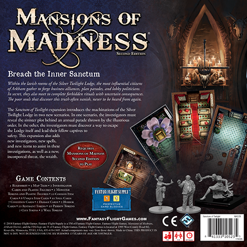 Mansions of Madness - Sanctum of Twilight