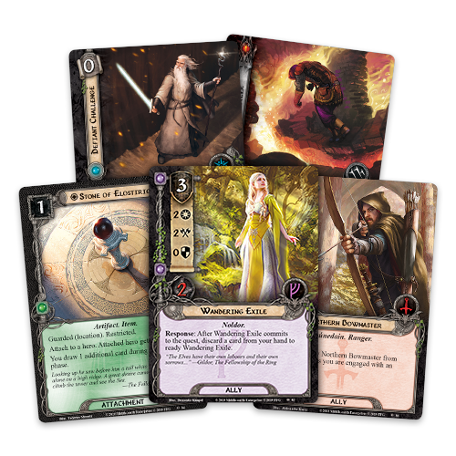 Lord of the Rings: LCG - Under the Ash Mountains