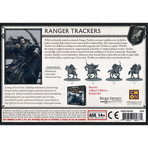 A Song of Ice & Fire - Night's Watch Ranger Trackers