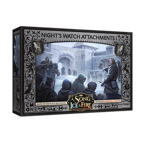A Song of Ice & Fire - Night's Watch Attachments #1