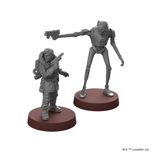 Star Wars: Legion - Cassian Andor and K-2SO