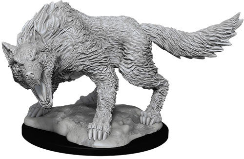 Nolzur's Marvelous Unpainted Miniatures - Winter Wolf
