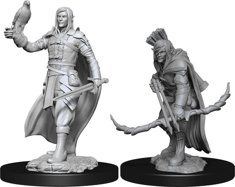 Nolzur's Marvelous Unpainted Miniatures - Elf Ranger Male