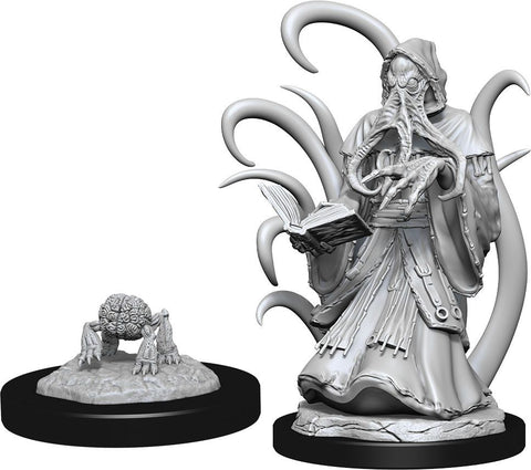 Nolzur's Marvelous Unpainted Miniatures - Alhoon & Intellect Devourers