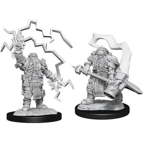 Nolzur's Marvelous Unpainted Miniatures - Dwarf Cleric Male