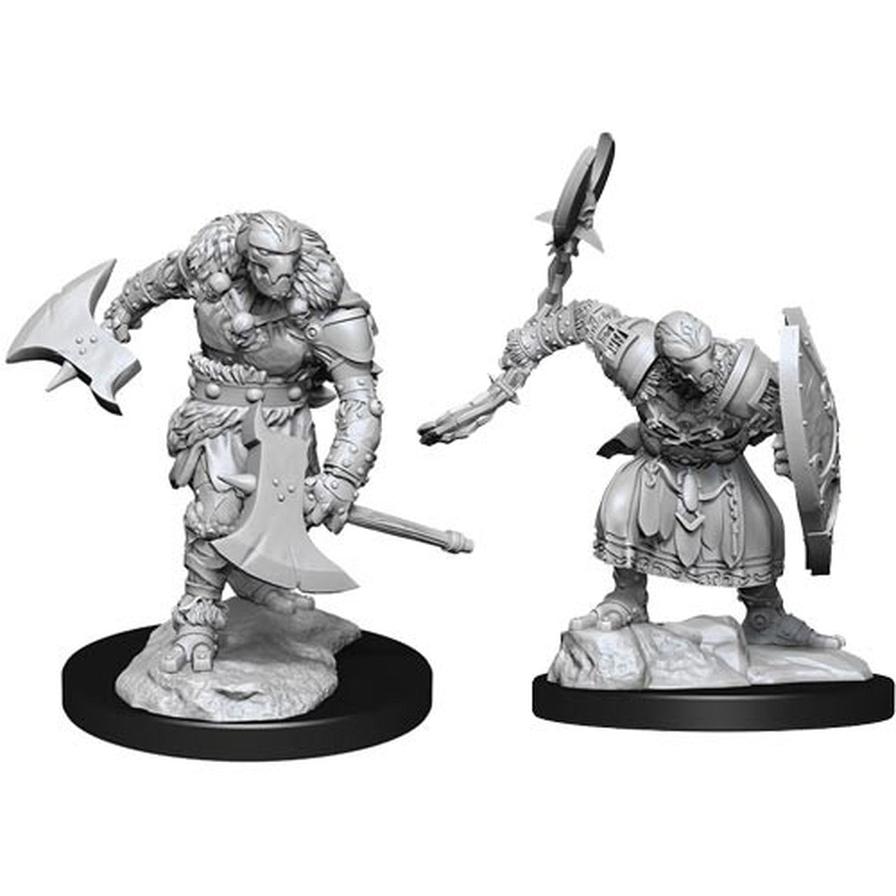 Nolzur's Marvelous Unpainted Miniatures - Warforged Barbarian