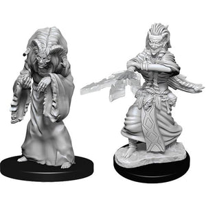 Nolzur's Marvelous Unpainted Miniatures - Night Hag & Dusk Hag