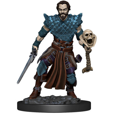 Icons of the Realms: Premium Figures - Human Warlock Male