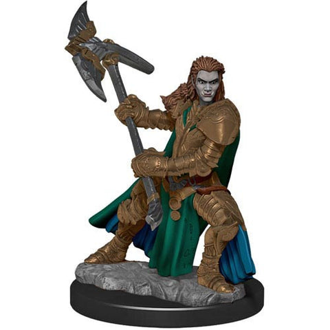 Icons of the Realms: Premium Figures - Half-Orc Fighter Female