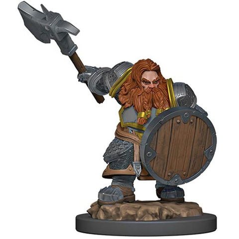 Icons of the Realms: Premium Figures - Dwarf Fighter Male