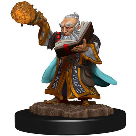 Icons of the Realms: Premium Figures - Gnome Wizard Male