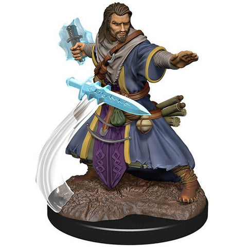 Icons of the Realms: Premium Figures - Human Wizard Male