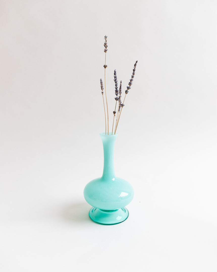 Beautiful Turquoise Genie Bubble Vase