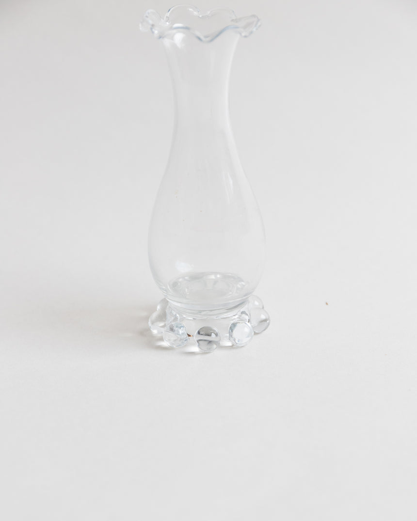 Vintage Small Boopie Glass Vase