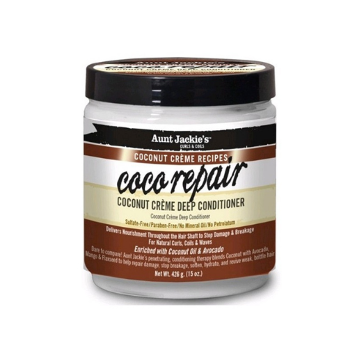 AUNT JACKIE'S Après Shampooing - Coco Repair Conditioner 426Gr