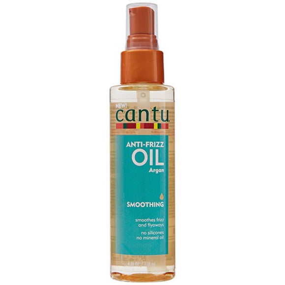 Cantu ANTI-FRIZZ OIL ARGAN SMOOTHING  - HUILE LISSANTE ANTI-FRIZZ.